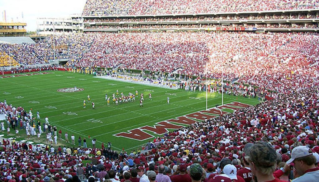 alabama football stadium