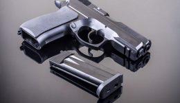9 mm hand gun