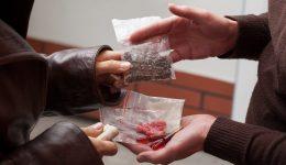 Drug dealer offering drugs